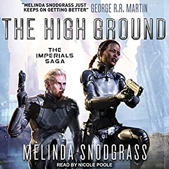 The High Ground by Melinda M. Snodgrass science fiction and fantasy book and audiobook reviews