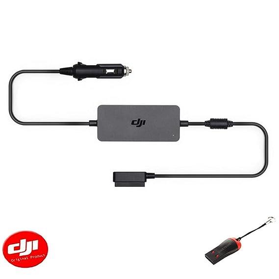 Amazon.com: DJI Mavic 2 - Cargador de coche con lector USB ...
