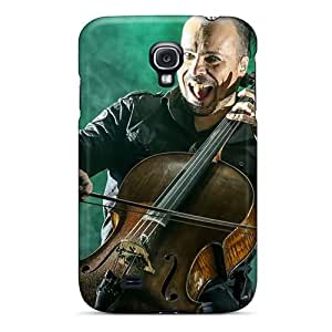 Anti-Scratch Hard Cell-phone Cases For Samsung Galaxy S4 With Provide Private Custom Colorful Apocalyptica Band Skin CristinaKlengenberg