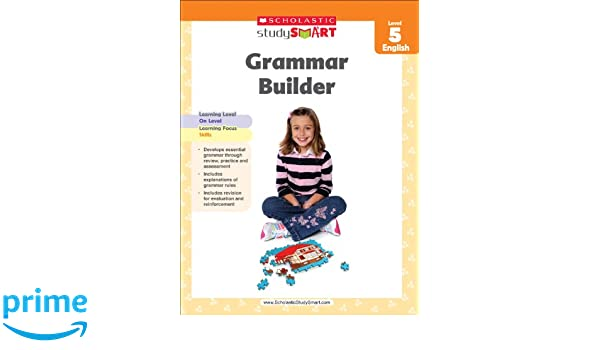 Amazon.com: Scholastic Study Smart Grammar Builder Grade 5 ...