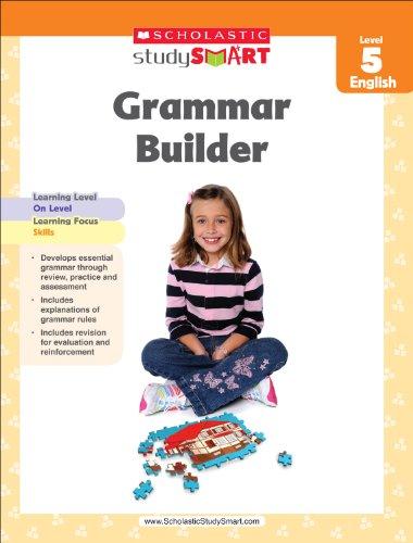Scholastic Study Smart Grammar Builder Grade 5