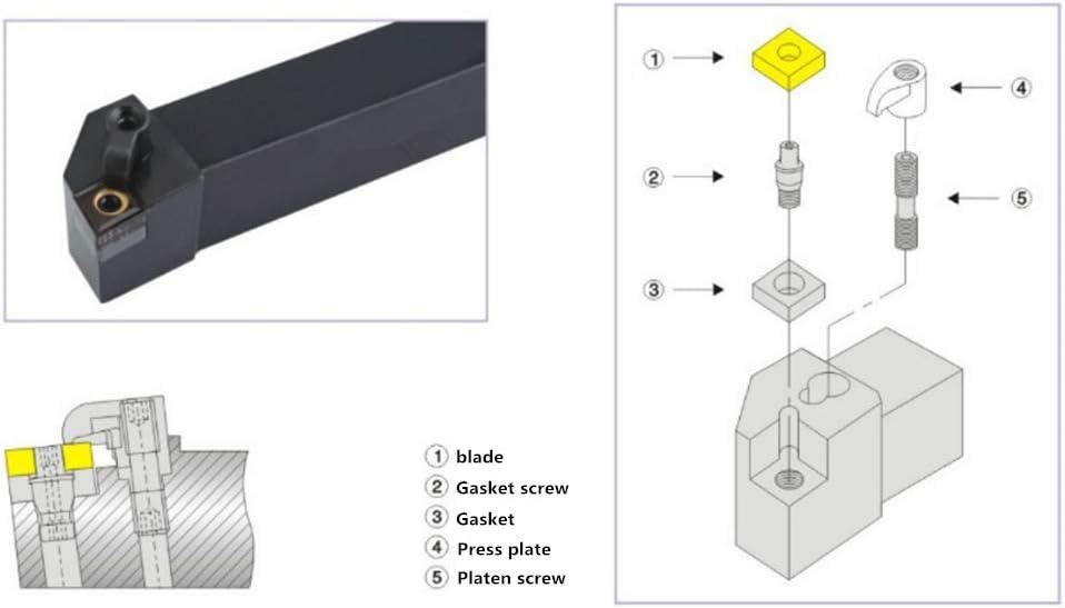 ZIYI 95/°S10K-SDUCR07 Index Internal Lathe Turning Holder For DCMT Inserts