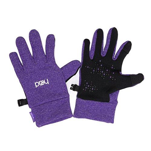 HEAD Kids' Touchscreen Gloves - Violet Heather