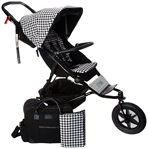 Mountain Buggy Urban Jungle Luxury Collection Stroller, Pepita - Bonded Collection Leather