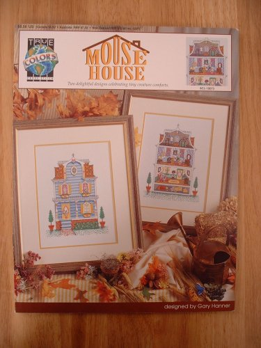 Mouse House Cross Stitch Pattern Designed by Gary Hanner for