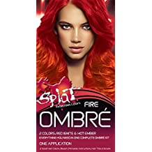 Splat Rebellious Colors Hair Coloring Complete Kit Fire Ombre