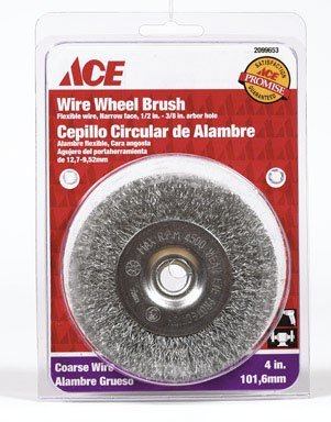 Ace Wire Wheel Brush (2099653) by Weiler Corporation from Weiler Corporation