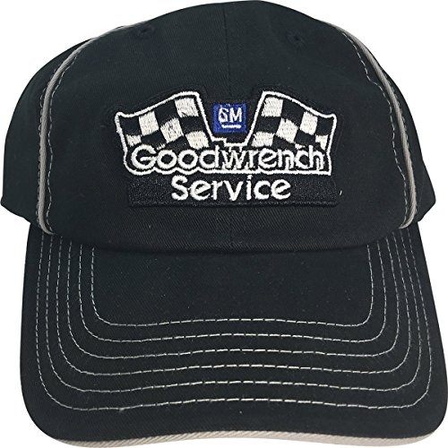 Gm Goodwrench Racing - GM Goodwrench Service Reverse Stitch with Piping Adjustable Adult Cap Hat