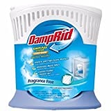 DampRid FG90 Moisture Absorber Easy-Fill System Large Room FamilyValue 4Pack