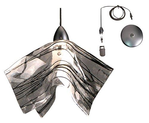 Meyda Tiffany 19660 Metro Fusion Branches Handkerchief Mini Pendant, 8