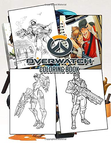 Overwatch Coloring Book Anyone Who Is A Fan Of Overwatch Game Will Love This Coloring Book With Beautifil Printing And Comix Corner
