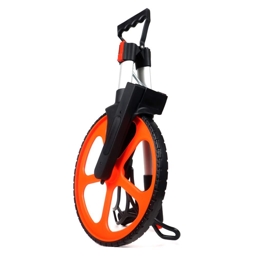 Festnight 318mm Zusammenklappbares mechanisches Distanzmessrad Handrad Entfernungsmesser Werkzeugmaschine