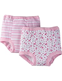 Toddler Girls' 4 Pack Training Pants