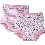 Gerber Girls' Toddler 4 Pack Training Pants