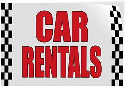 58inx38in, Decal Sticker Multiple Sizes Free Loaner Cars Auto Body Shop Car Repair Style U Business Free Loaner Car Outdoor Store Sign White