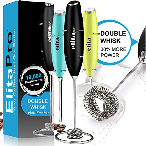 Double Whisk Milk Frother