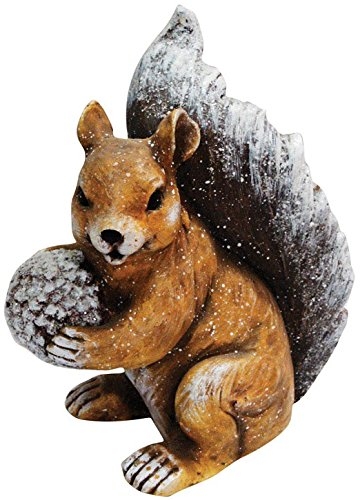 冬Squirrel Statue B01KKGF1H0