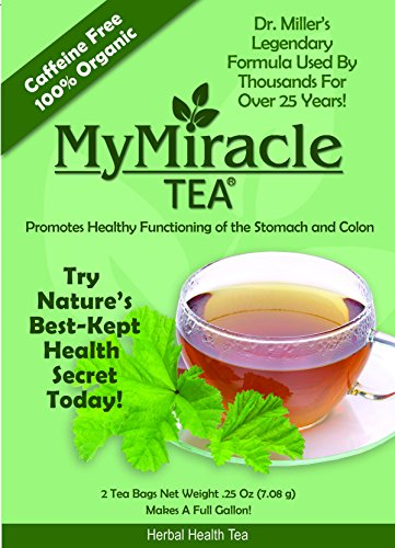 Millers Tea My Miracle Constipation product image
