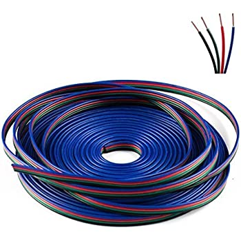 Amazon.com : SUPERNIGHT 33FT Led Strip Extension Wire Cable ...