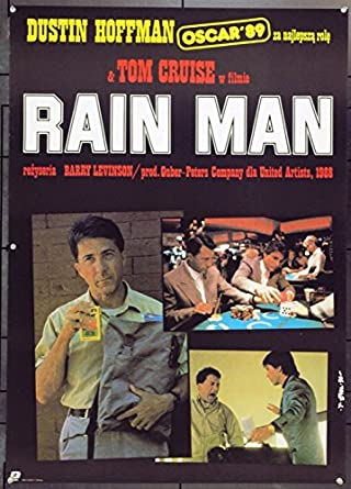 Rain Man 1988 Original Movie Poster At Amazon S Entertainment Collectibles Store