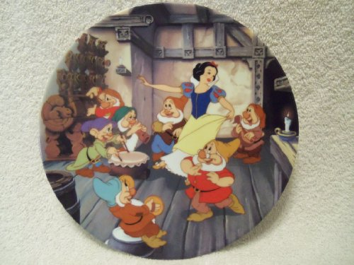 Disney The Dance of Snow White and the Seven Dwarfs by Knowles Collectible Plate (Snow Whites Dance)