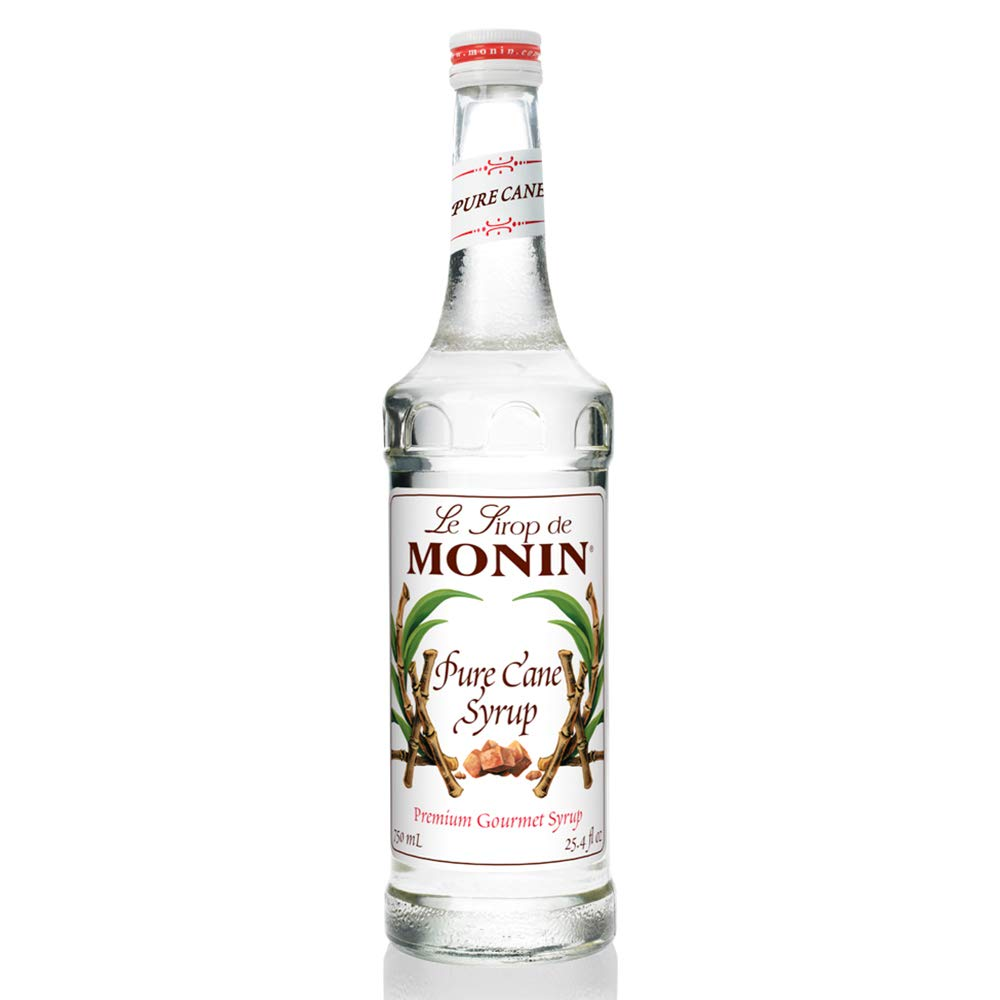 Monin - Pure Cane Syrup, Pure and Sweet, Great for Coffee, Tea,