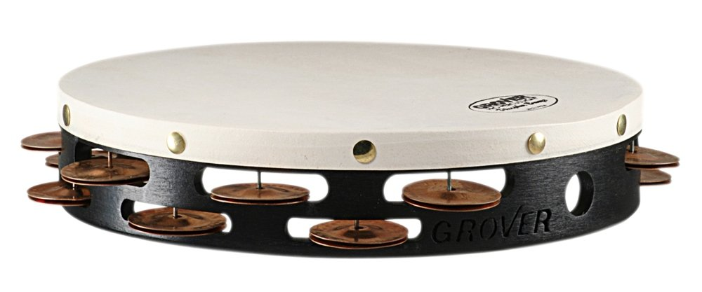 Grover Pro Projection-Plus Double-Row Phosphor Bronze Tambourine 10 in. by Grover Pro