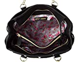 Betsey Johnson Womens Multi Compt Tote