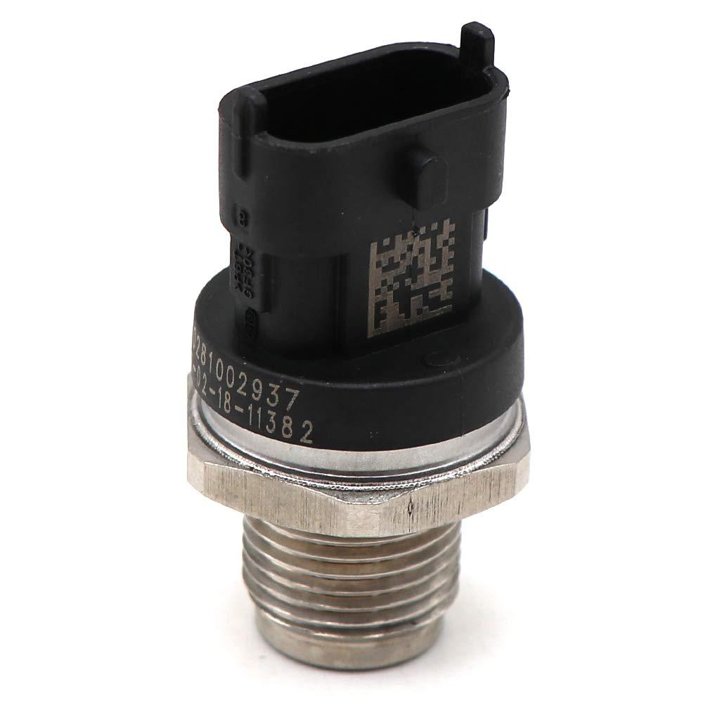 KIPA Fuel Rail Pressure Sensor 0281002937 For Volvo C30 C70 FE FL S40 S60 S80 V50 V70 XC60 XC70 XC90 SUZUKI ignis splash swift wagon Chevrolet Captiva 2.0D Fiat Croma 1.9D 1.3D Iveco Cummins 5260246
