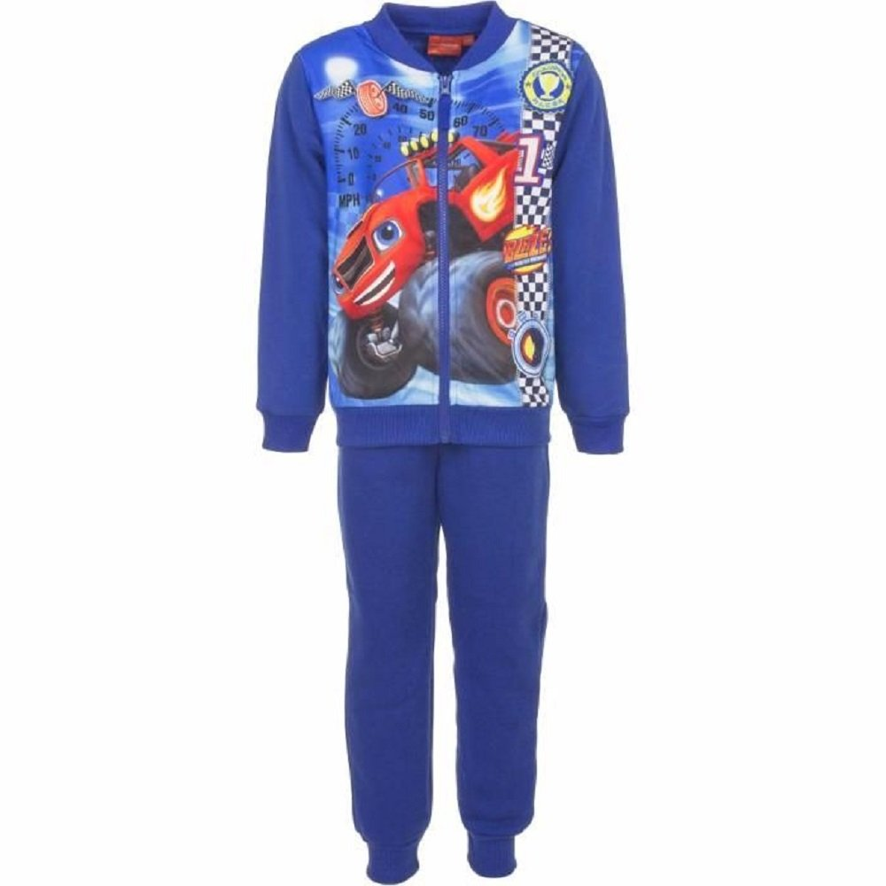 Blaze and the monster machine Official Licenced Boys Fleece Lined Tracksuit Trackpant Age 3 to 8 Years