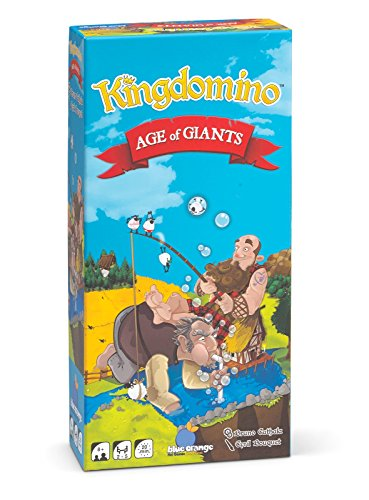 BLUE ORANGE GAMES Kingdomino Age of Giants Expansion Strategy Board Game by Blue Orange