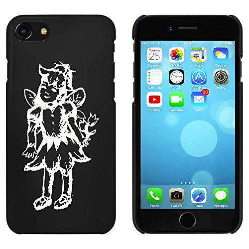Noir 'Fée Heureuse' étui / housse pour iPhone 7 (MC00064077)