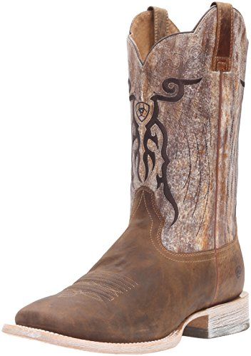 Ariat Men's Mesteno Western Cowboy Boot, Dust Devil Tan/Marble, 9 D US