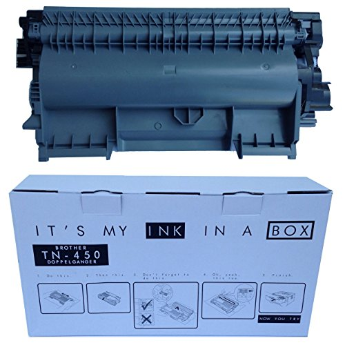***Introductory SALE*** IT'S MY INK IN A BOX / Brother TN450 Doppelgänger / New Genuine Toner for Brother Laser Printers