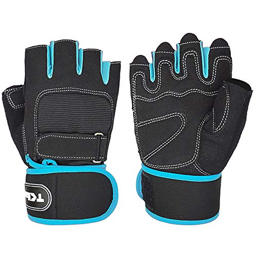 TClian Weight Lifting Gloves Gym Gloves with 12