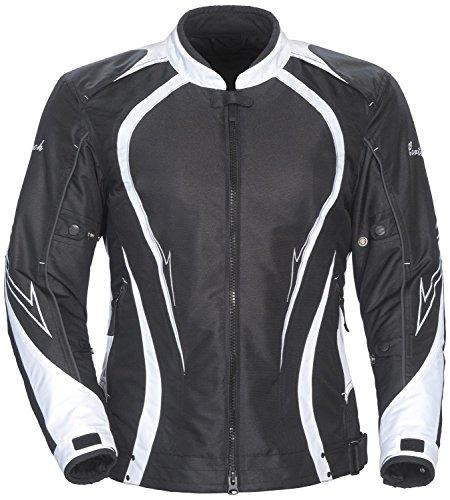 Cortech LRX 3.0 Women's Textile Street Motorcycle Jacket - Black/X-Large