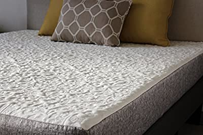 CELEBRATE AMERICA WITH A HANDCRAFTED MATTRESS MADE IN USA! 8 Inch Cool Sleep Gel Memory Foam Mattress with Premium Textured 8-Way Stretch Cover
