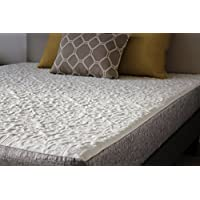 HANDCRAFTED IN USA! 8 Inch Cool Sleep Gel Memory Foam Mattress with Premium Textured 8-Way Stretch Cover (Queen)