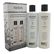 Nioxin System 3 Cleanser & Scalp Terapy Conditioner Treated Hair Set Duo 10 oz