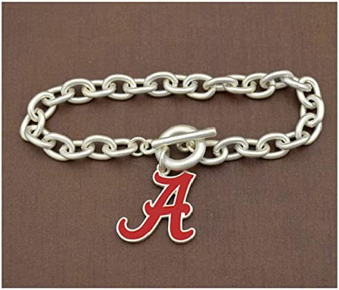 Varied Game Day Outfitters NCAA Alabama Crimson Tide Womens Fantastic Jewelry