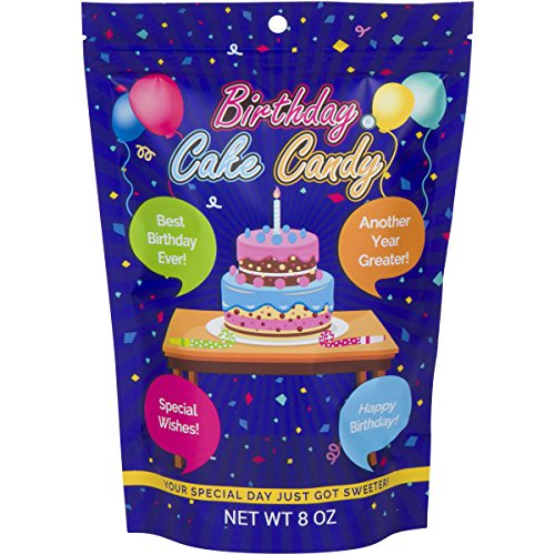 Happy Birthday Cake Candy Sweet Treat For All Ages Unique