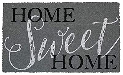 "Briarwood Lane Home Sweet Home Coir Doormat Everyday Natural Fiber Outdoor 18"" x 30"""
