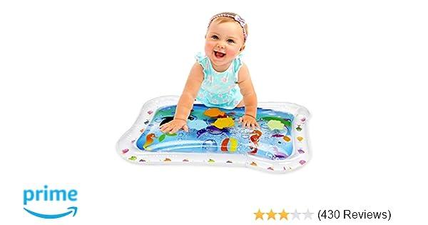 39c38416c052 KLEEGER Inflatable Baby Water Mat  Fun Activity Play Center. for Children    Infants