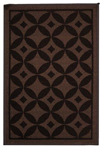 chocolate area rug - 7