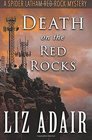 book cover of Death on the Red Rocks