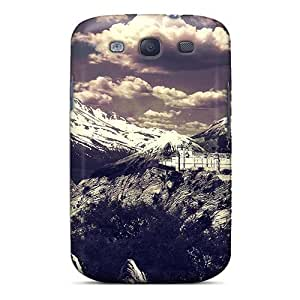 FEouRPD3326mRXcj Tiger On Mountain Awesome High Quality Galaxy S3 Case Skin
