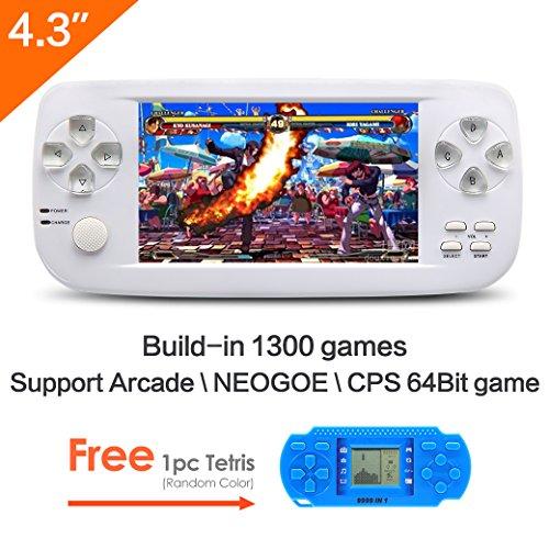 CZT 4.3 pulgadas de la pantalla 64Bit consola de juegos de mano ...