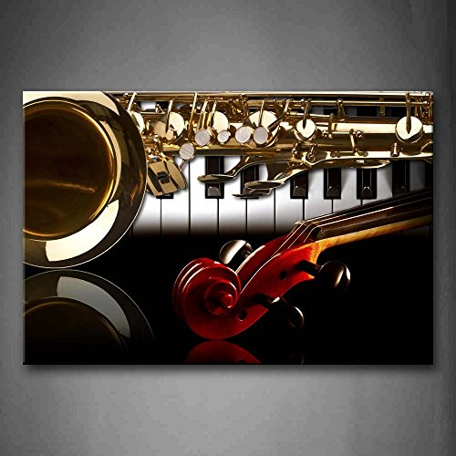 First Wall Art Instruments Decoration