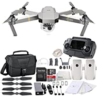 DJI Mavic Pro Platinum Collapsible Quadcopter Travel Bag Essential Bundle