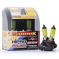 Hipro Power H10, 9040, 9050, 9055, 9140, 9145, 42Watt 3000K Golden Yellow Xenon HID Halogen Fog Light Bulbs